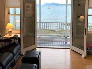 Sea Spray - Modern Oceanfront Cottage with Views of Cadillac Mountain & Acadia