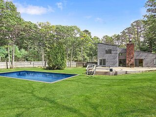 Serene Modern with Heated Pool In Great Southampton Location
