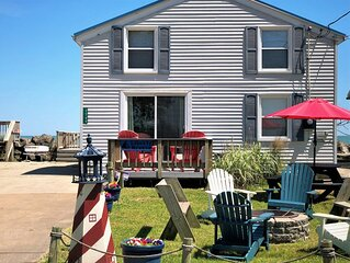 Charming Cottage on Lake Erie (Near Port Clinton) Free WiFi, Lakefront, Beaches