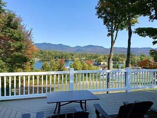 Veranda Overlooking Mirror Lake 5 Bedroom Residence