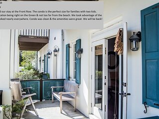 The Front Row, 30A Cottages, Discounted Rates for Spring '17! Call Now!!