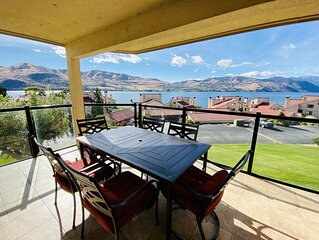 Gorgeous Lake Chelan Shores Two Bedroom, Lake View Condo (sleeps 6)