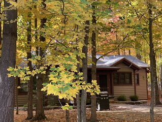 Cottage #3 at DollyBrook Resort minutes from Saugatuck