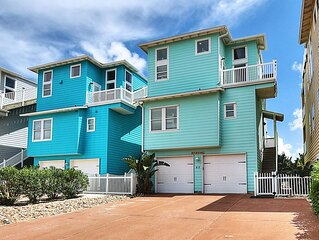 Beautifully decorated ocean view beach house!!!