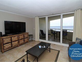 Lovely Perdido Sun Gulf Front Unit- Delightful Views AND Washer & Dryer!