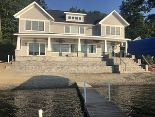 Brand New Luxury Home On 150' Natural Beach