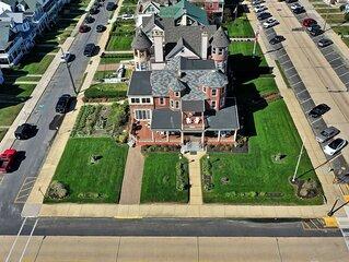Ocean Front Grand Victorian Mansion