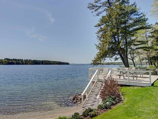 Updated Family Friendly cottage w/ large deck and access to Lake Winnipesaukee