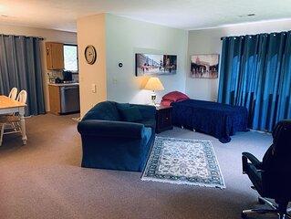 Private Spacious Apartment in Quiet, Safe, Cozy neighborhood - Virus Protected!
