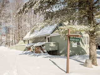 Trailside Vacation Home with Hot Tub and Allows Dogs