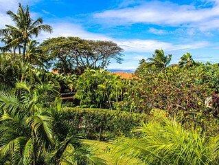 Maui Kamaole #D206- 2BR Garden View Condo!