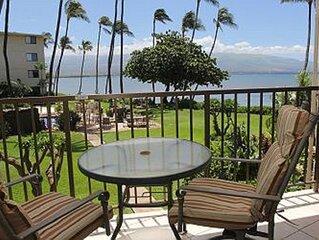KAN205 - Maui Ocean View Condo Retreat in Beach Front Resort—Fabulous Views