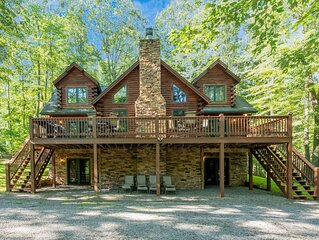 Lake Area Home w/Fire Pit, Pool Table, & Wood Fireplace!