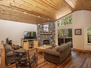 Lovely 3br, 2.5ba Dog-Friendly Home with Hot Tub on Tahoe's Beautiful West Shore