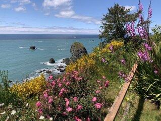 Cottage on Ocean Bluff