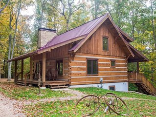 Two Dogs a Dreamin' Log Cabin