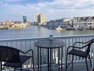 BAYFRONT Condo **Spectacular VIEWS** Walk to Beach/Boardwalk ** Boatslip avail