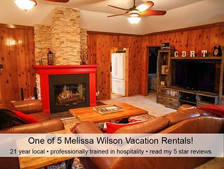 Best in town location•private•pro clean•dogs ok•kids play space•fire pit•loved!