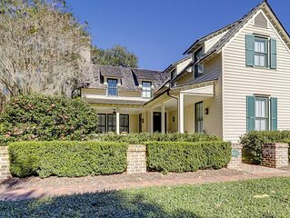 Low country Luxury In The Heart Of The Village at 615 Old Palmetto Bluff Rd.