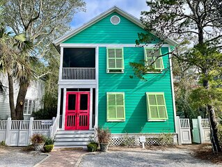 STEPS TO SEASIDE AVE IN SEASIDE, steps to family pools, park and the beach!