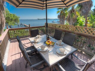 Beautiful sunrise views from this lovely Bayfront home!