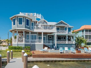 Rarely open! Available May 8-15th. Incredible views, 2 kitchens, dock and more.