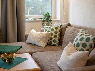 A2.3 - Moderne Ferienwohnung mit Seeblick-Balkon, strandnah für bis zu 6 Persone