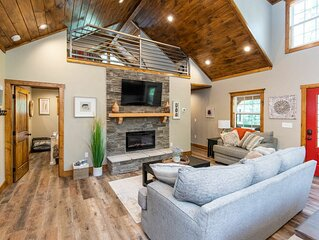 Hot Tub, WiFi, Adventure - Newly Constructed Family Cabin - Dreamscape- Red Rive