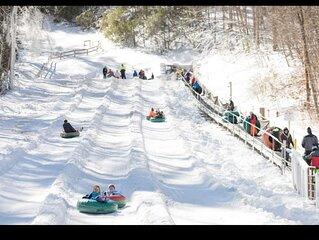 Cashiers, N.C.-  Snow Skiing- Winter Wonderland