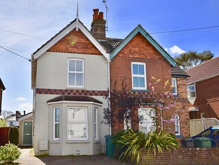 Blackberry Cottage - A family home in the village and moments from the beach