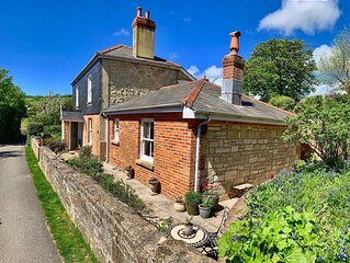 Little Clatterford a little romantic retreat in stunning countryside.