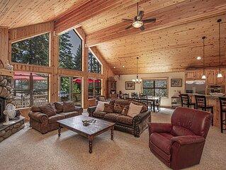 Tahoe Woods: 3 BR / 2.5 BA house/cabin in Tahoe City, Sleeps 8