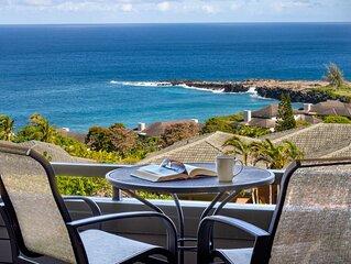 Kapalua Ridge Villa Gold!  Endless Ocean Views!