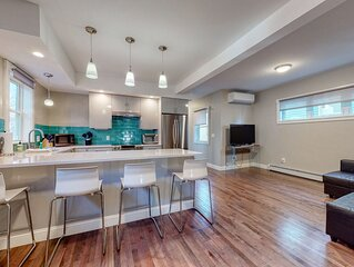 Sleek Condo w/ a Private Patio - Less than Two Blocks from the Beach/Park