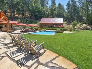 Relax in the most beautiful, secluded setting Sonoma County has to offer