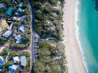 160 Steps... from Yallingup Beach