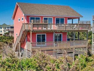 Mesmerizing Oceanfront Views Avon! Cmty Beach Boardwalk, Hot Tub, Comty Pool