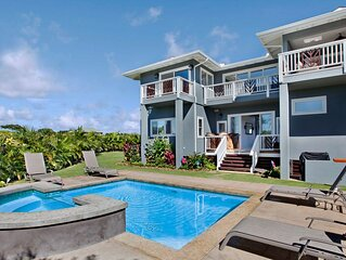 PRIVATE POOL & AC - GREAT FAMILY LOCATION IN CENTRAL POIPU!