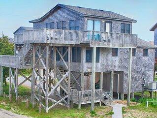 Popular Semi-Oceanfront Home- Hot Tub, Cmty Pool, Dog-Friendly, Game Rm, Netflix