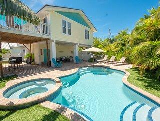 Private Pool & Spa located in historic village