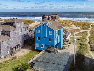 Roaring Surf - Picturesque 5 Bedroom Oceanfront Home in Rodanthe