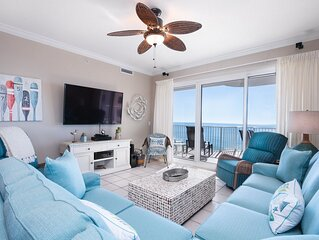 Spacious 3 BR / 3.5 BA Gulf Front Corner Unit | Liquid Life Vacation Rentals