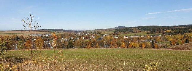 Blick zum Pöhlberg 832 NN