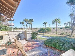 Oceanfront Villa Just Beyond the Dunes,?Close to Pool and Beach Club