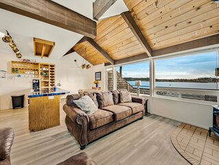 Bayfront suite w/ shared sauna - dogs ok!