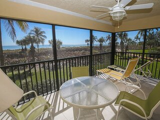 Beautiful beachfront condo- heated pool, tennis, kitchen, near amenities
