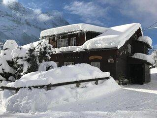 Ferienwohnung Grindelwald fur 2 Personen mit 1 Schlafzimmer - Ferienwohnung in B