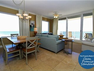 Stunning Updated Indigo End Unit with Exclusive Cabana AND Beach Service!*