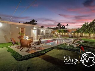 Private Pool Trendy 4BR House-*Work Station Gameroom* �� ����������