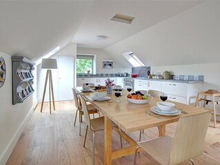 With the light open plan living area on the first floor, Cefn Mawr is a barn and